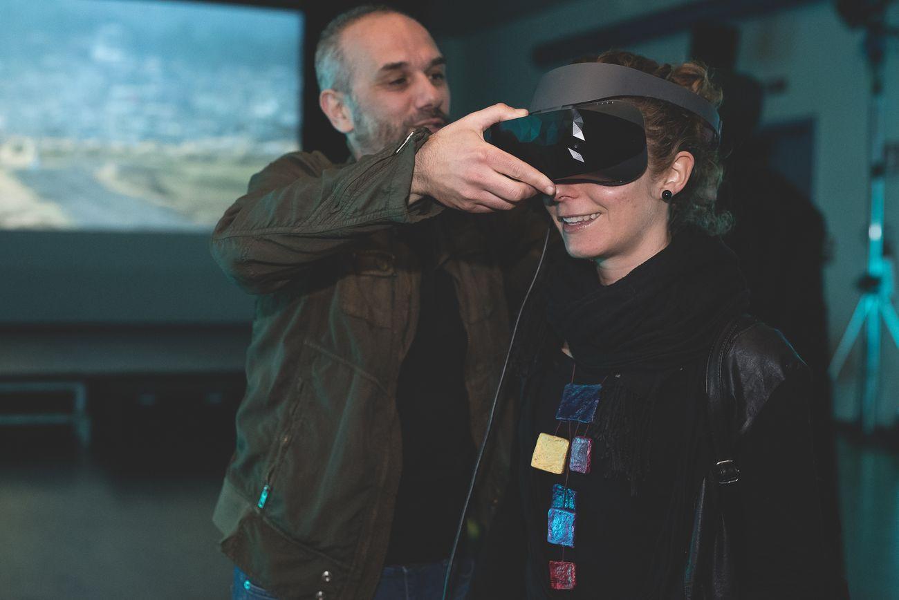 Igor Imhoff, Boy VR installation. Ibrida Festival 2019. Courtesy Ibrida Festival