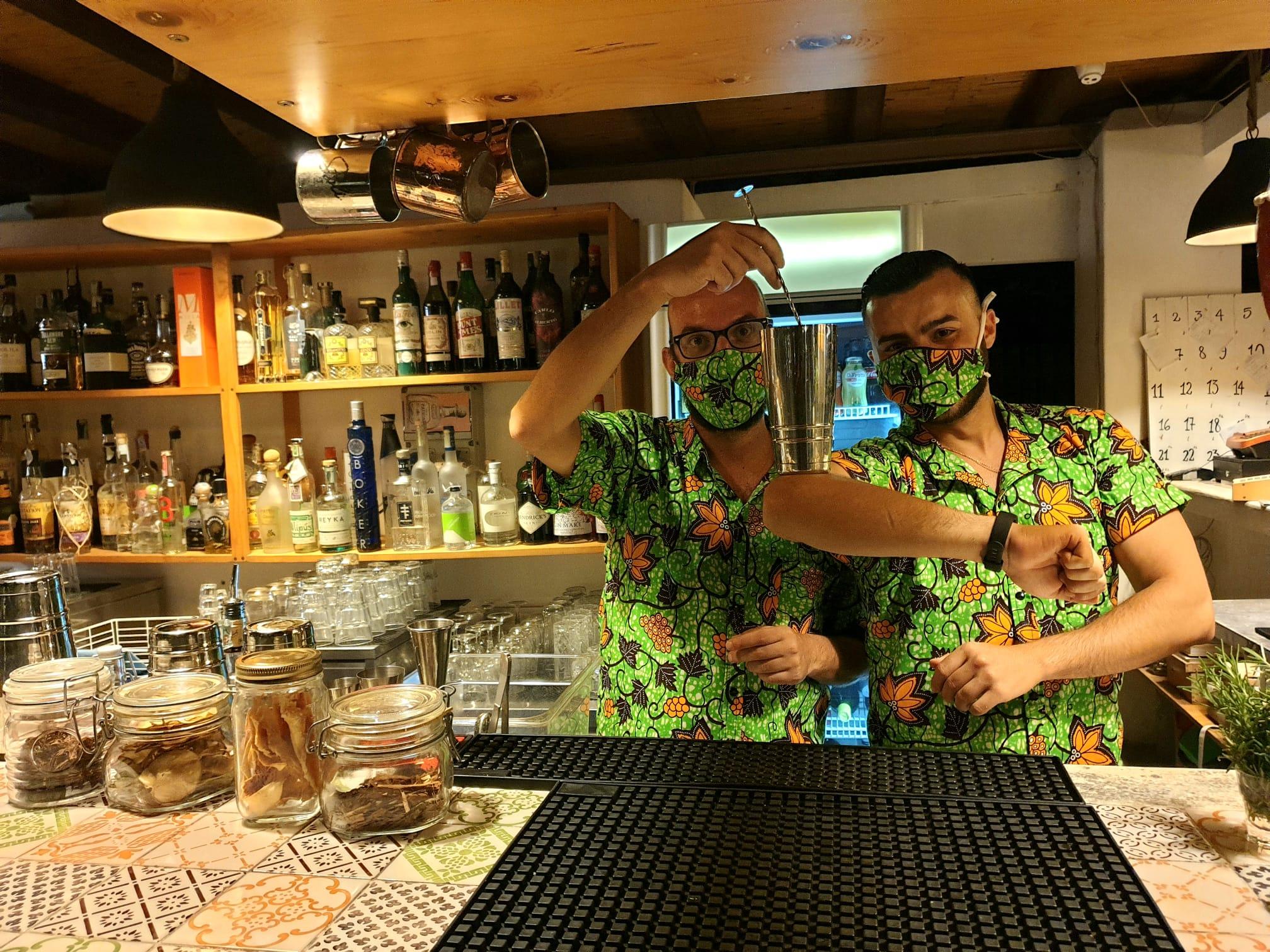 Il Giardino di Lipari, bartenders