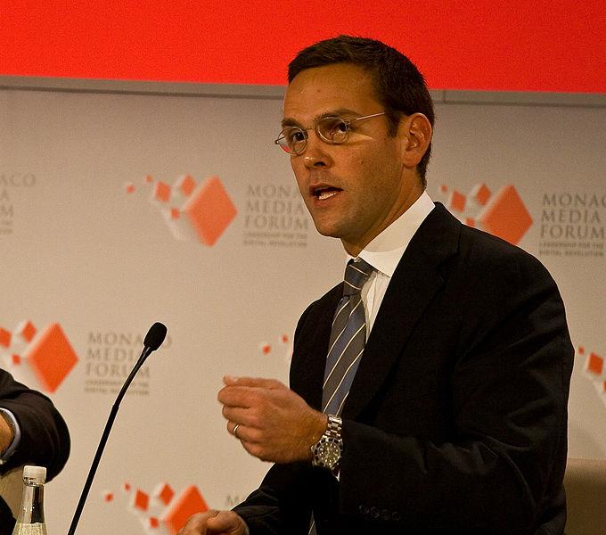 James Murdoch 2008 via Wikipedia