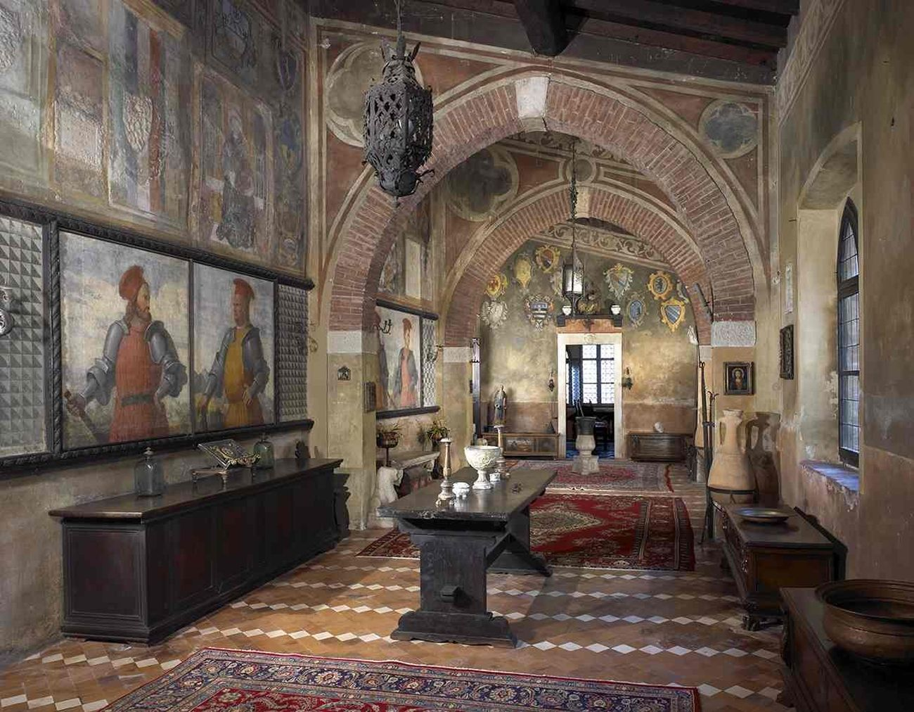 La Galleria della Casa del Podestà. Courtesy Fondazione Ugo Da Como