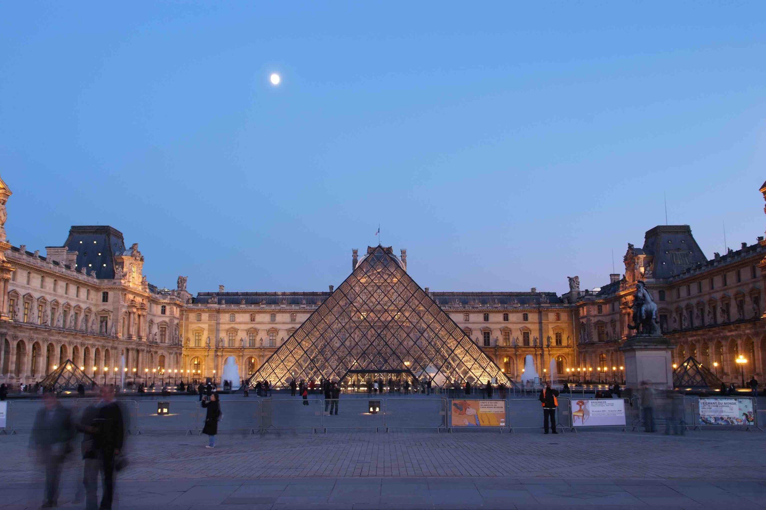 La Pyramide du Louvre © 2009 Musée du Louvre Stéphane Olivier