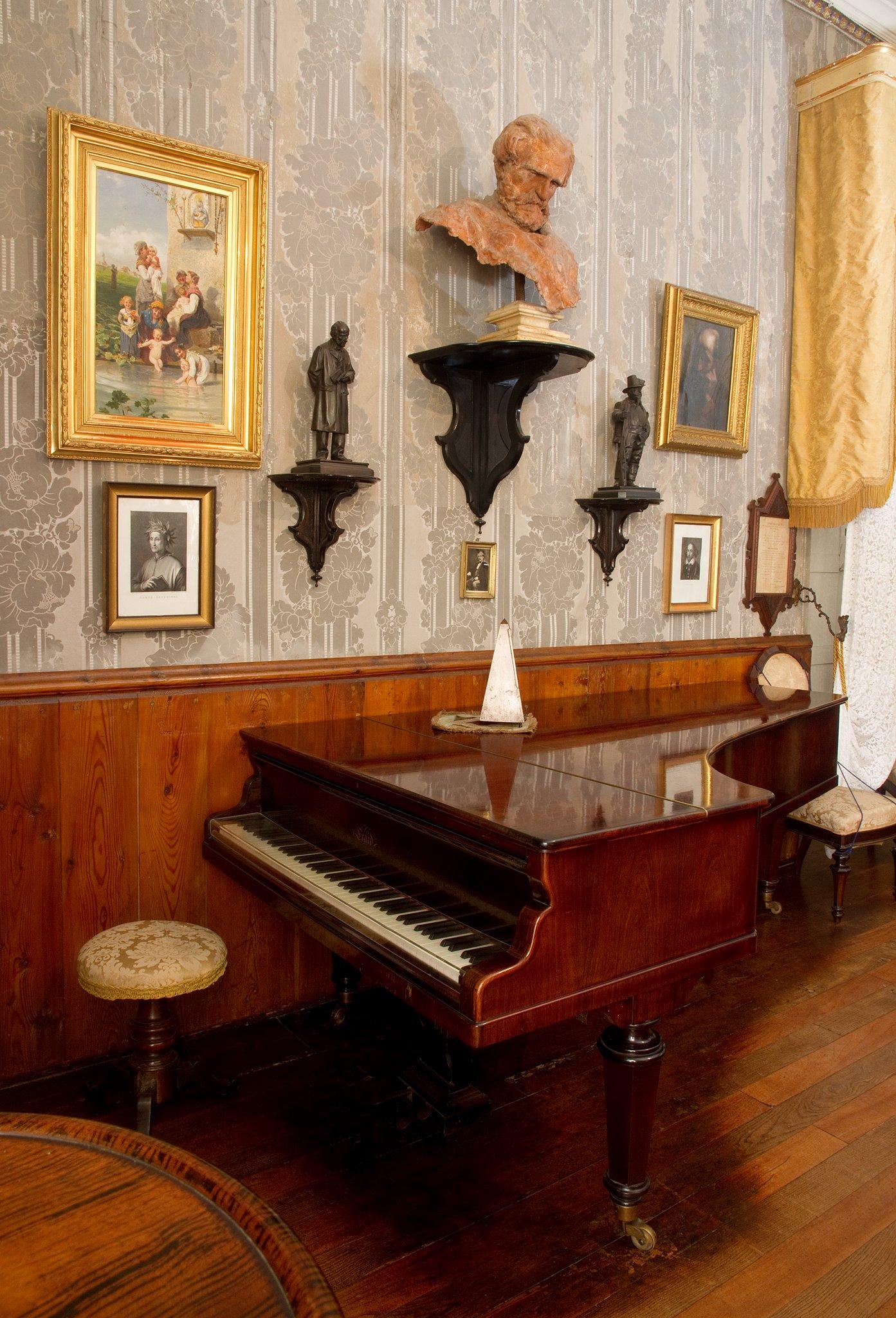 La camera di Giuseppe Verdi