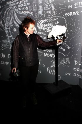 Laurie Anderson at PAC_Installation view_The Record Of The Time_2003_PAC Milano
