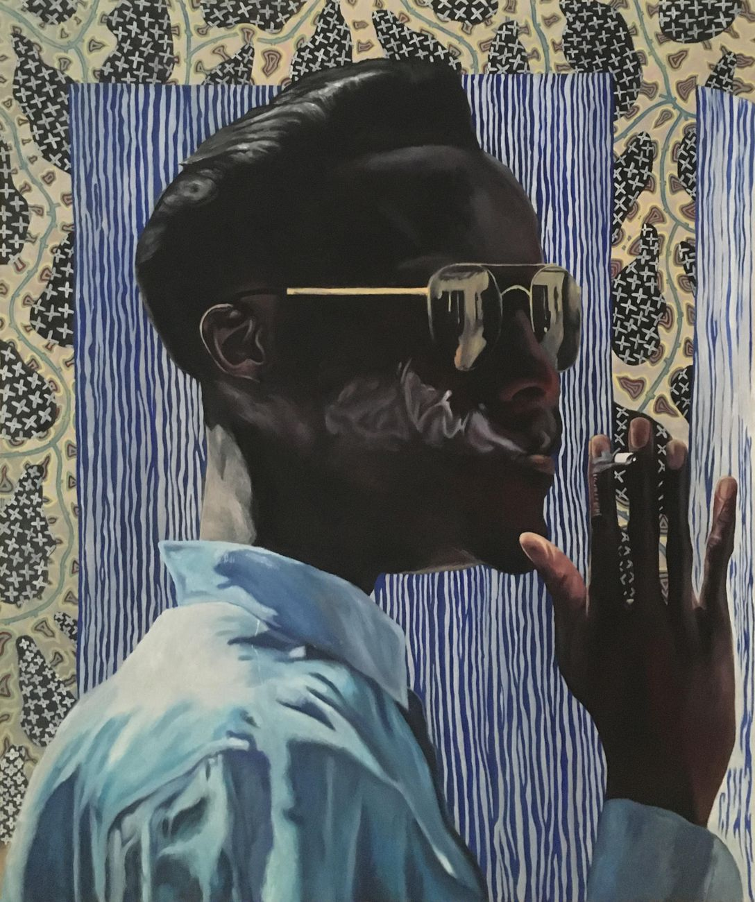 Luigi Spagnol, Senza titolo, 2000, olio su tela, cm 100x79,5