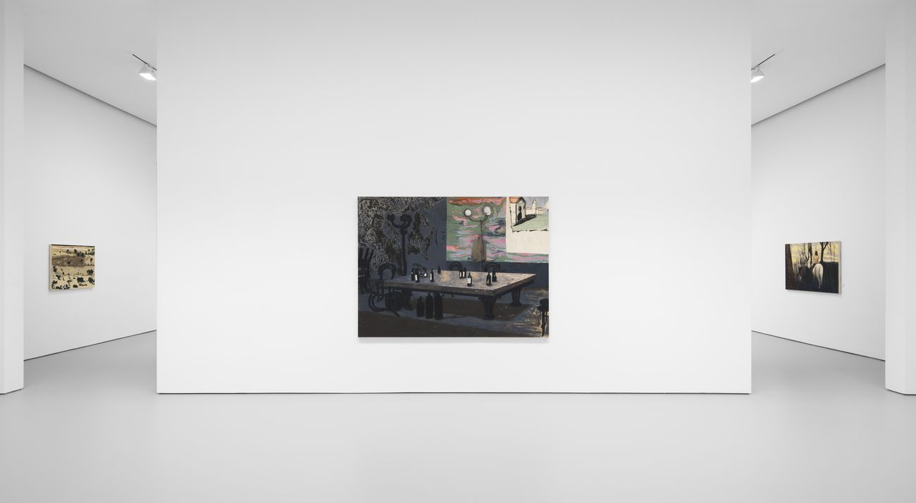 Mamma Andersson. The Lost Paradise. Installation view at David Zwirner, New York 2020. Courtesy David Zwirner