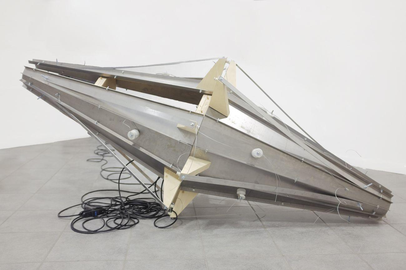 Nicolò Masiero Sgrinzatto, Argagno, installation view at Galleria Ramo, Como 2020