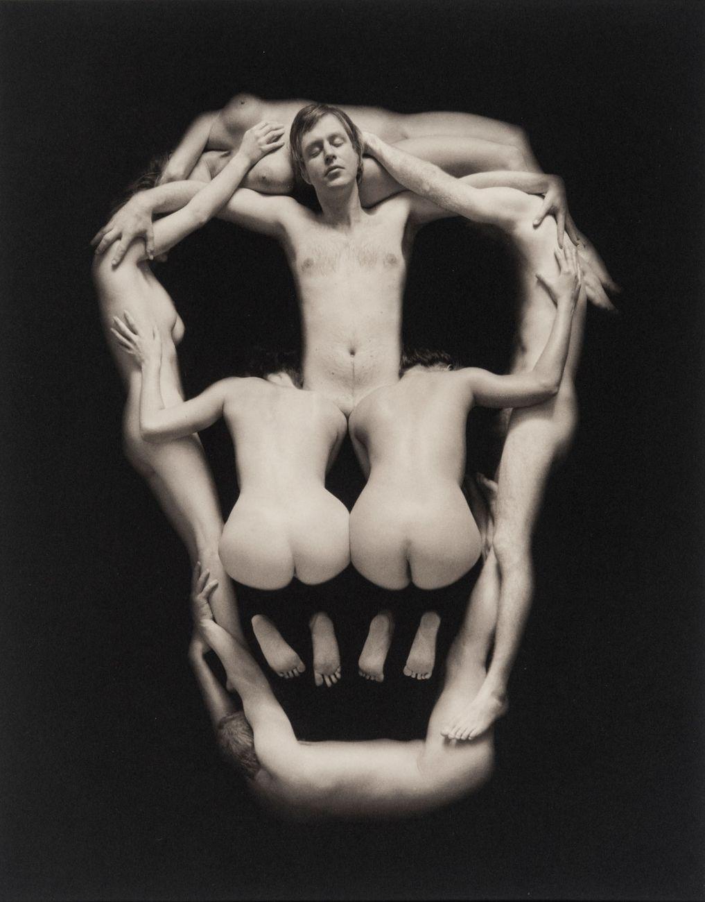 Piotr Uklansky, Senza titolo (Skull), 2000, stampa al platino palladio, ed. 6 di 20, 38 x 29,7 cm. Courtesy Art Rite