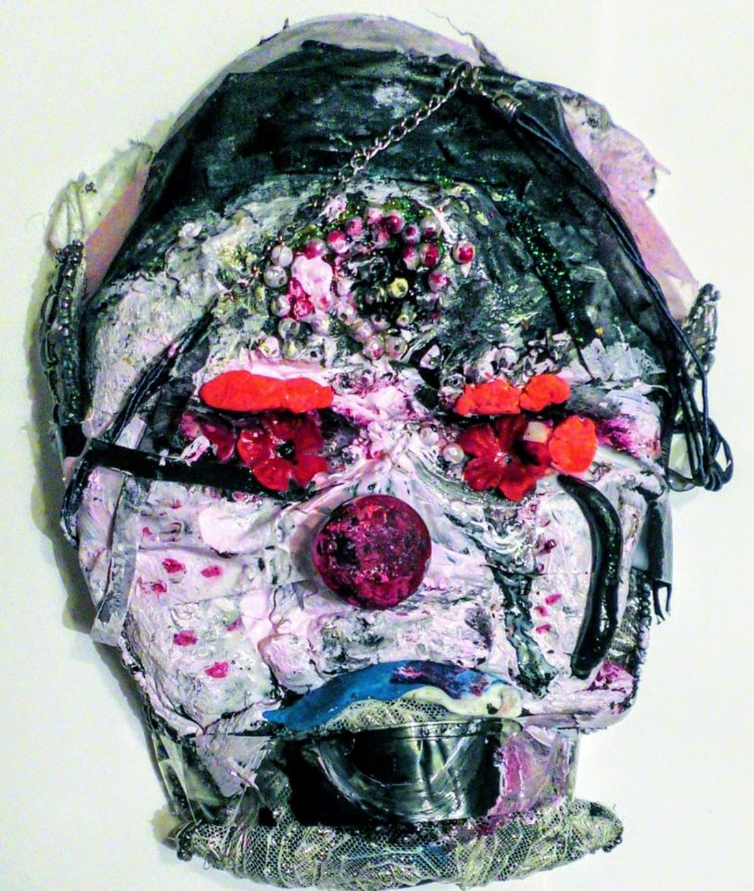 Silvia Argiolas, Maschera n. 7 - Maschera di una buffona, 2020
