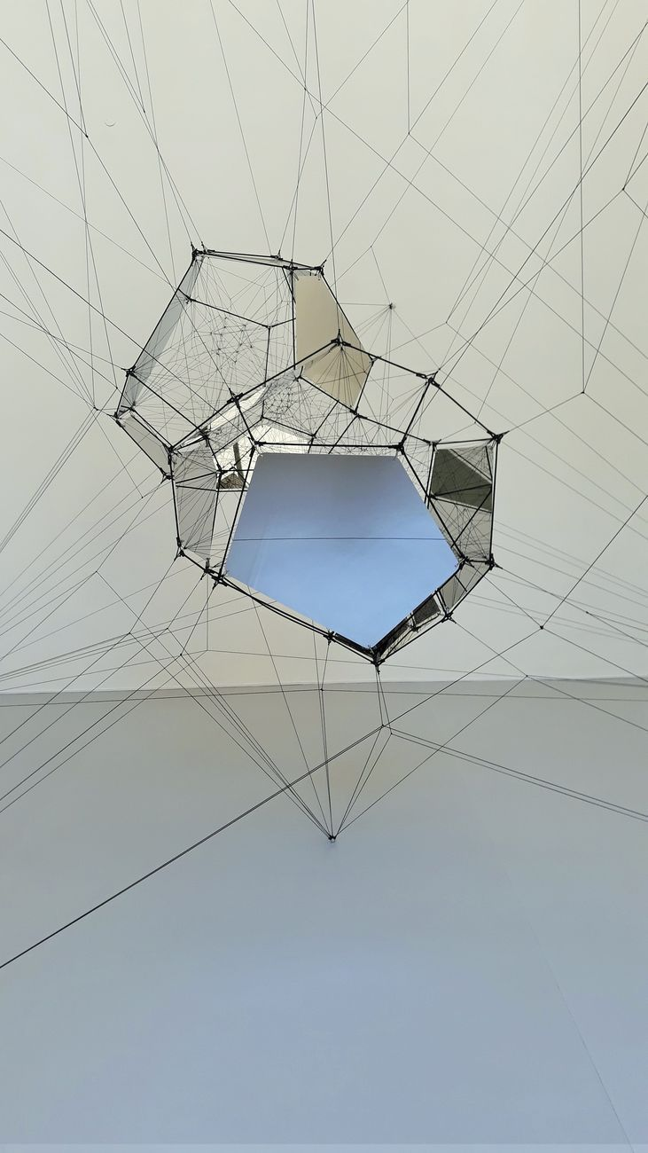 Tomás Saraceno. Aria. Exhibition view at Palazzo Strozzi, Firenze 2020