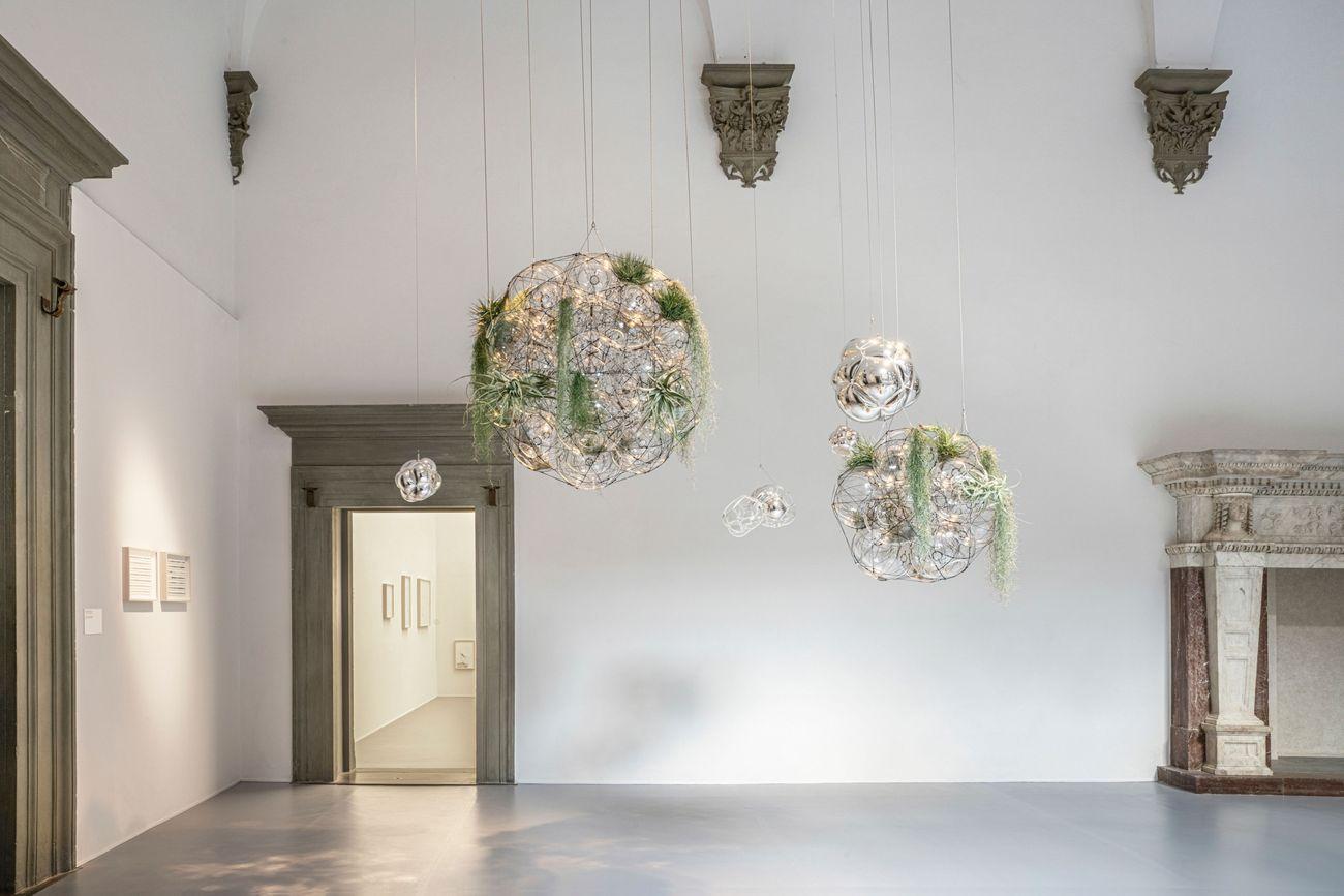 Tomás Saraceno, Flying Gardens. Photo Ela Bialkowska, OKNO Studio