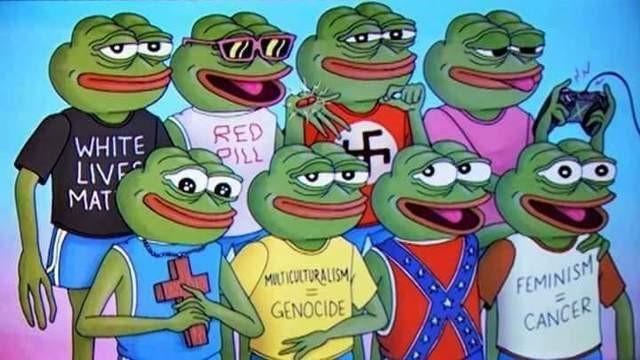 Uno screenshot di Pepe the Frog