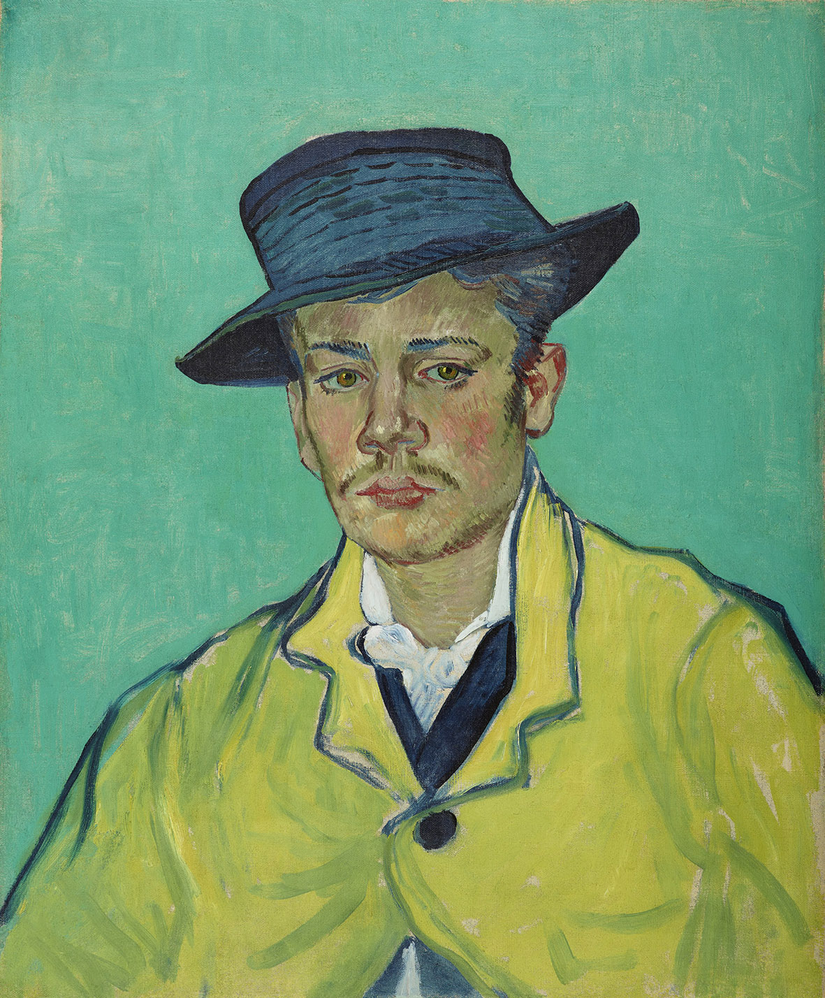 Vincent van Gogh: Ritratto di Armand Roulin, 1888, olio su tela, cm 65 x 54,1. Folkwang Museum, Essen trasferito dal Museum Folkwang, Hagen, nel 1922 © Jens Nober, Museum Folkwang