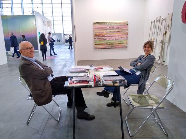 Alberto Peola e Francesca Simondi della nuova galleria Peola Simondi