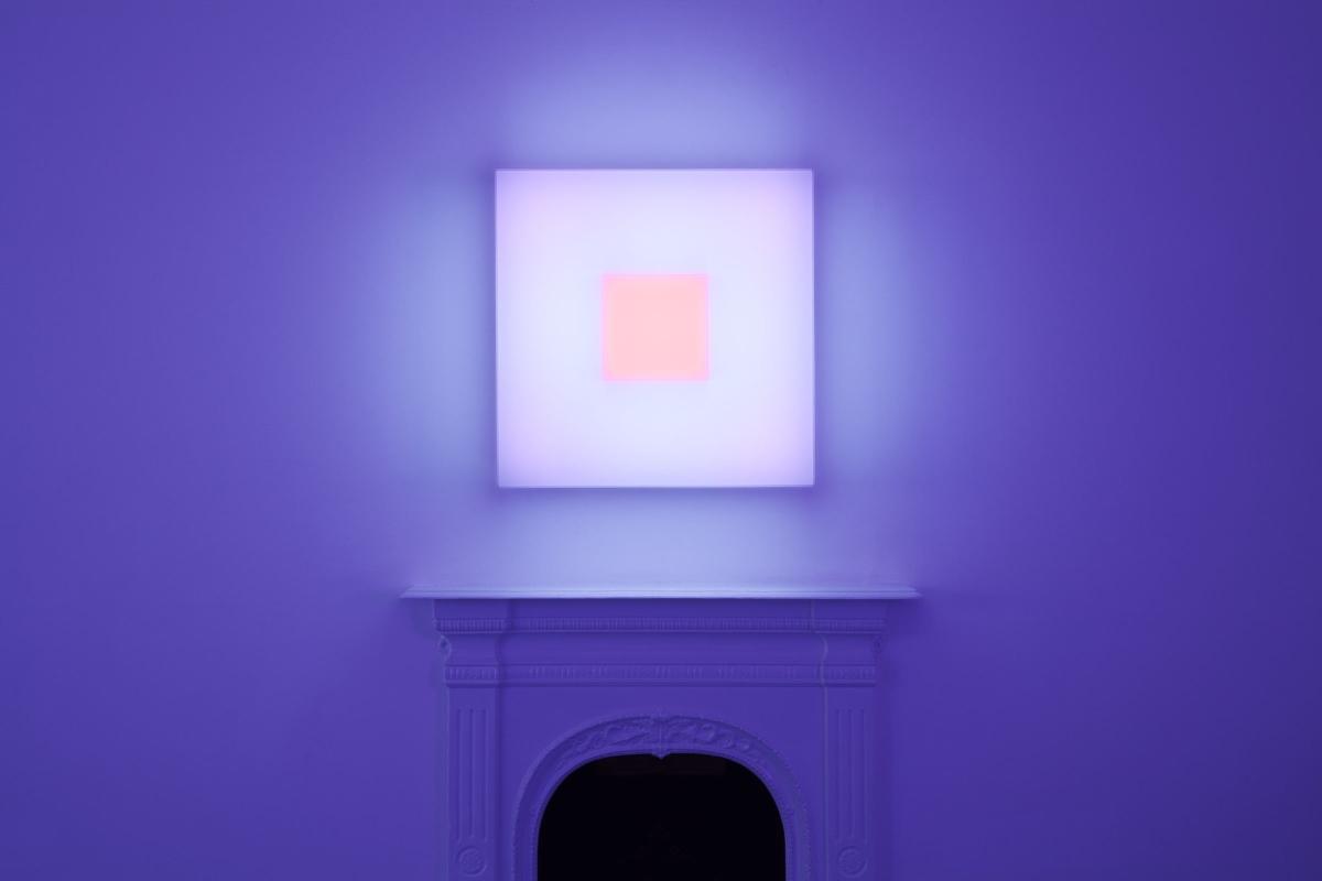 Brian Eno, installation Light Music 2016, Paul Stolper Gallery, April May 2016