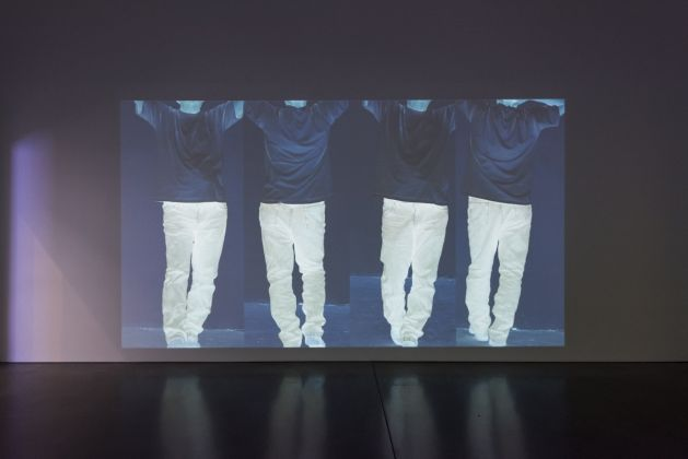 Bruce Nauman, Contrapposto Studies, I through VII, 2015 16. Pinault Collection and Philadelphia Museum of Art. © Bruce Nauman Artists Rights Society (ARS), New York