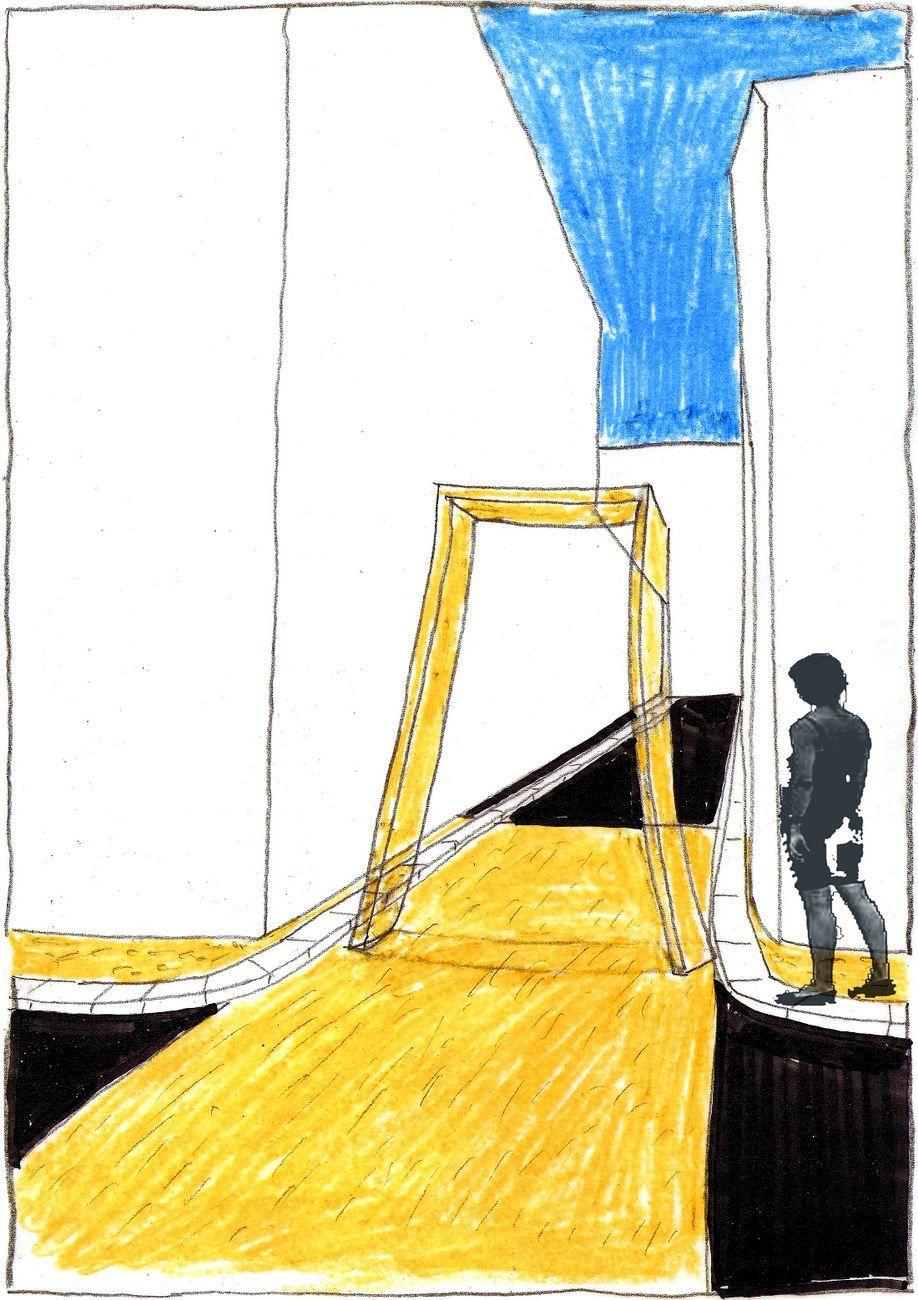 COR arquitectos & Anna Merci, Follow me! - Un chilometro come prototipo di accoglienza, Canosa di Puglia. Elaboratori di progetto. Courtesy COR arquitectos & Anna Merci