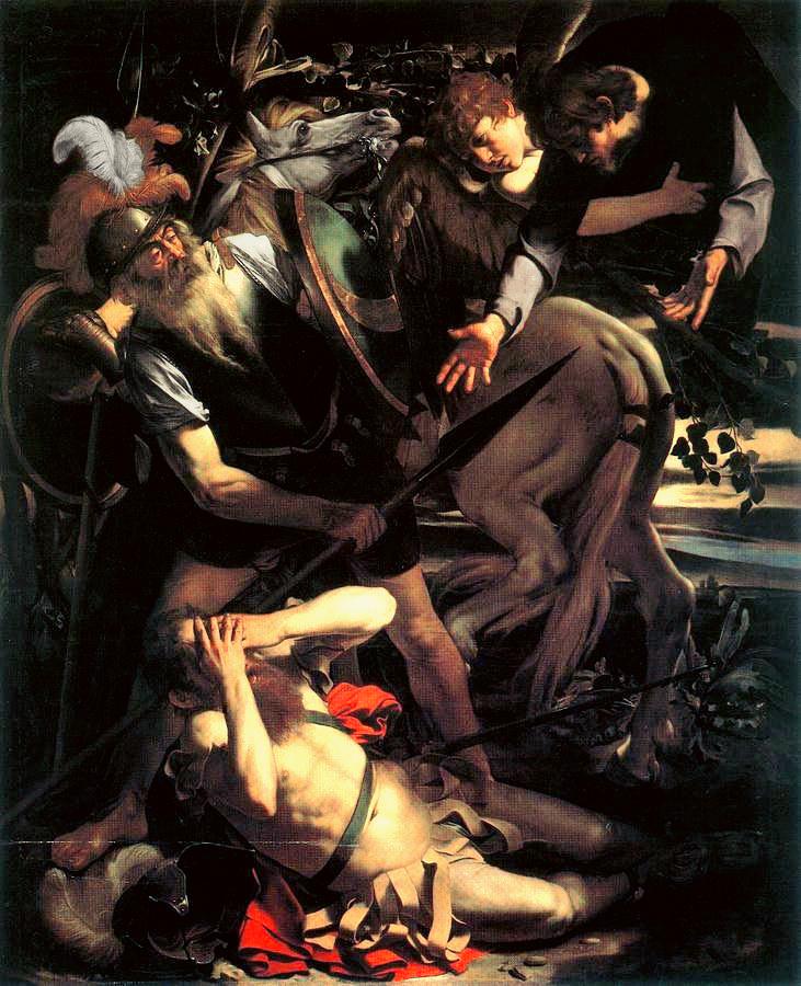 Caravaggio, Conversione di Saulo (Odescalchi)