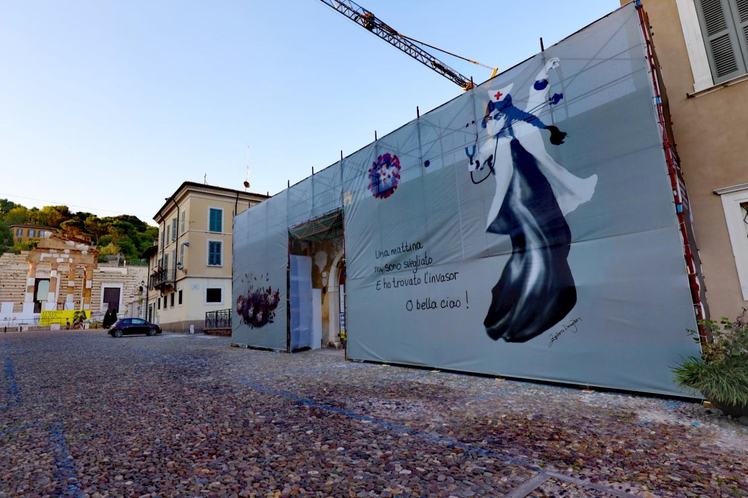 Zehra Doğan, Courtesy Fondazione Brescia Musei