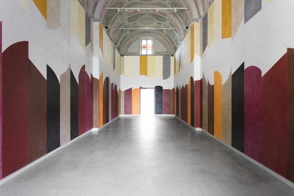 David Tremlett - Open Space San Maurizio