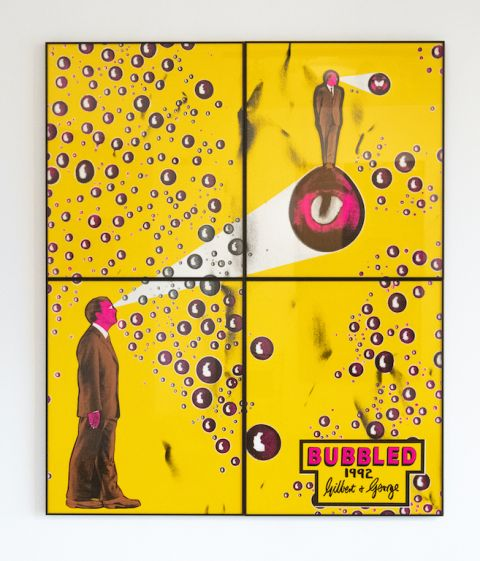 Gilbert & George   Bubbled   1992