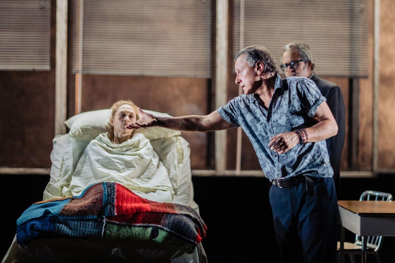 Harold Pinter, Una specie di Alaska. Regia Valerio Binasco. Torino, Teatro Carignano per lo Stabile