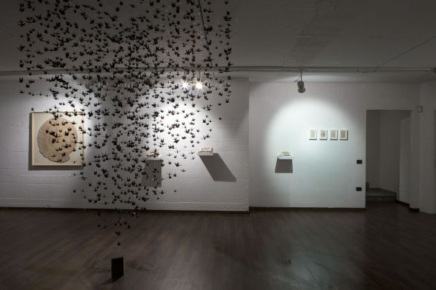 Jukhee Kwon. The Lightness of a Moment. Installation view at Galleria Patricia Armocida, Milano 2020