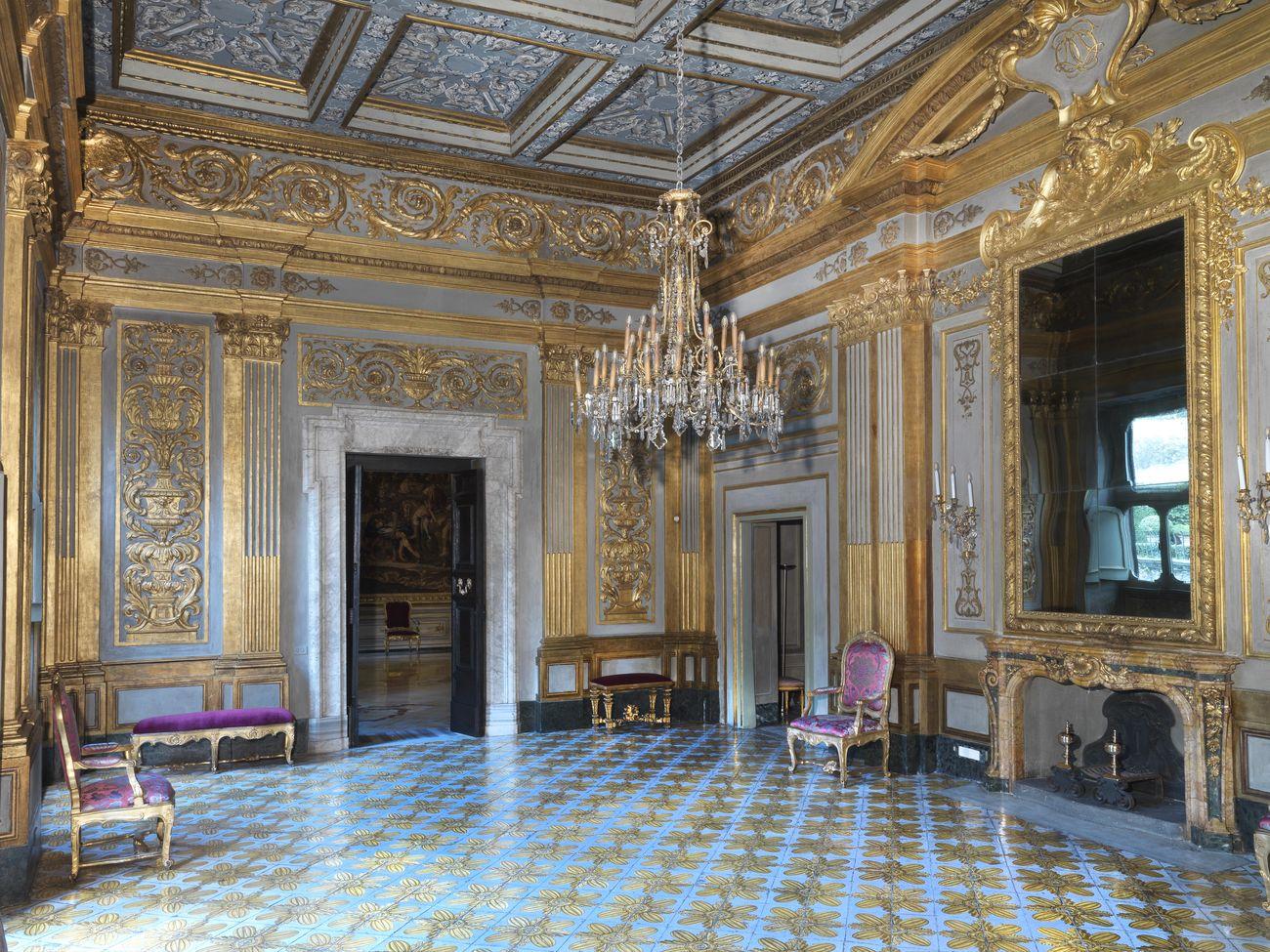La Sala delle Maioliche. Palazzo Colonna, Roma