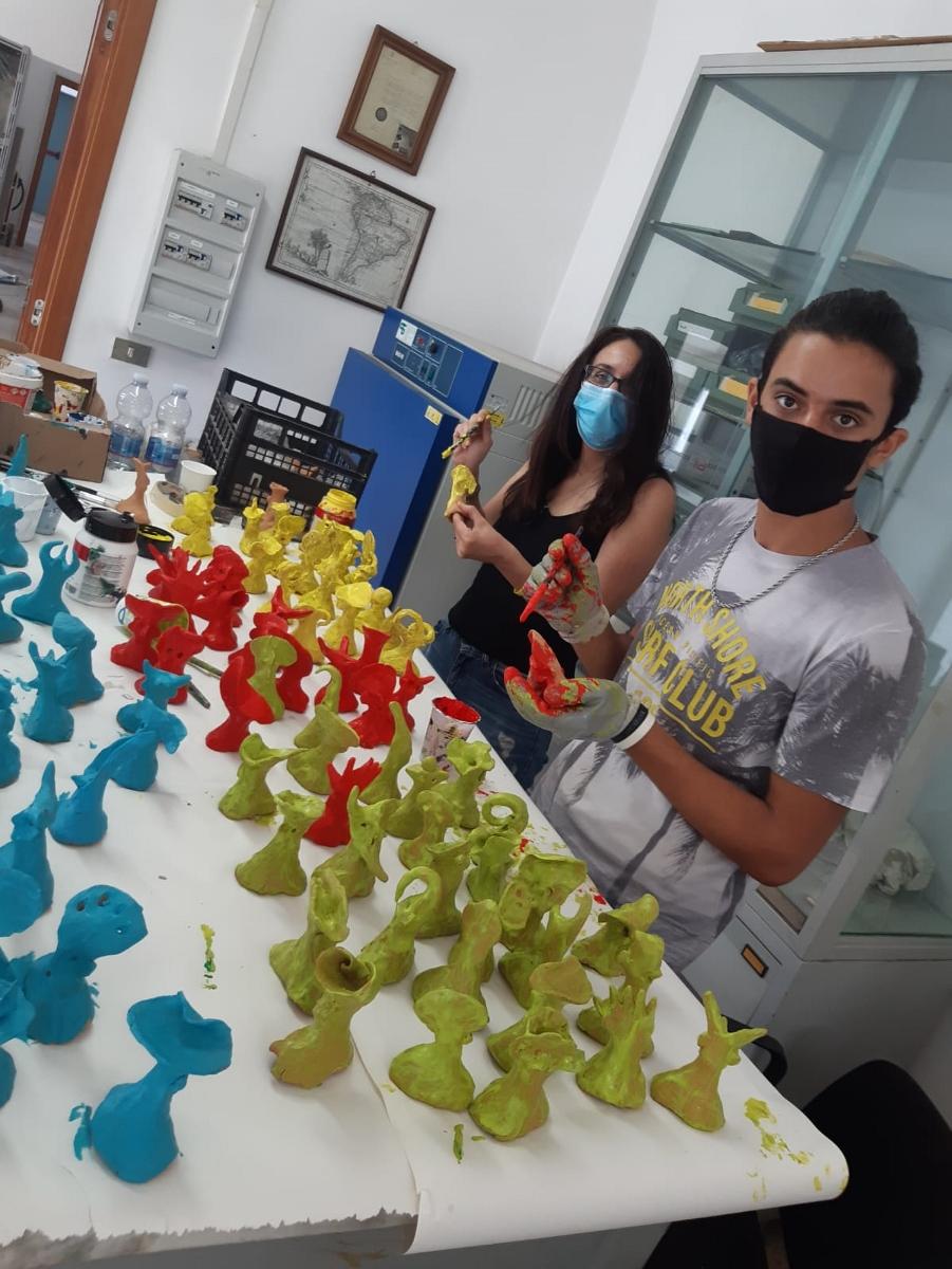 L'opera diffusa e partecipata di Nicola Genco realizzata con i rifugiati al Castromediano di Lecce - Laboratorio