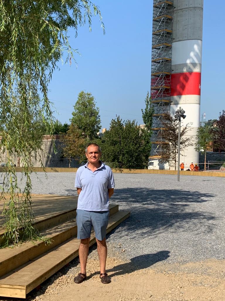 Luca Vitone, La Radura della Memoria, Parco del polcevera, Genova