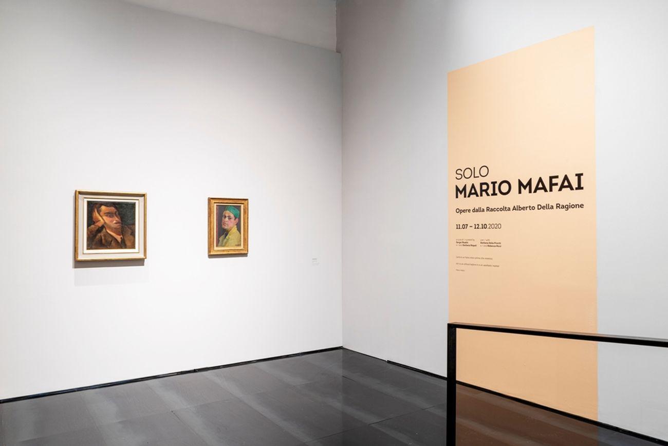 Mario Mafai. Solo. Installation view at Museo Novecento, Firenze 2020. Photo Leonardo Morfin