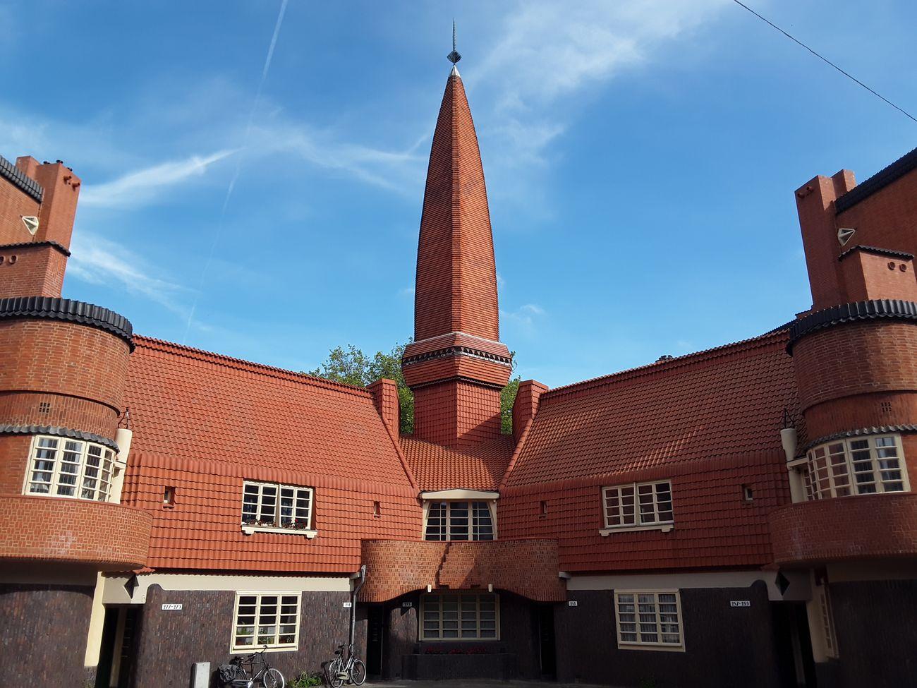 Michel de Klerk, Torre del blocco abitativo Het Schip, Amsterdam,1921. Photo credits Museo Het Schip