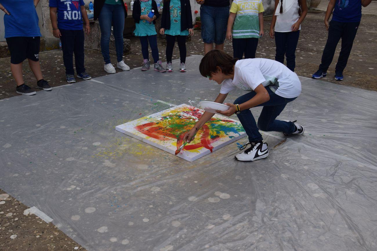 Museo delle Trame Mediterranee, attività educative, foto archivio Fondazione Orestiadi