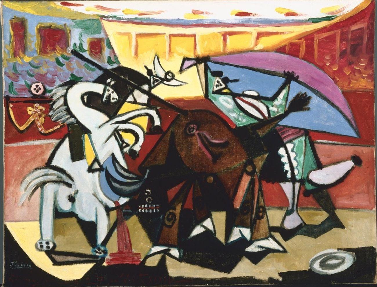 Pablo Picasso, Tauromachia, 1934. Phillips Collection, Washington