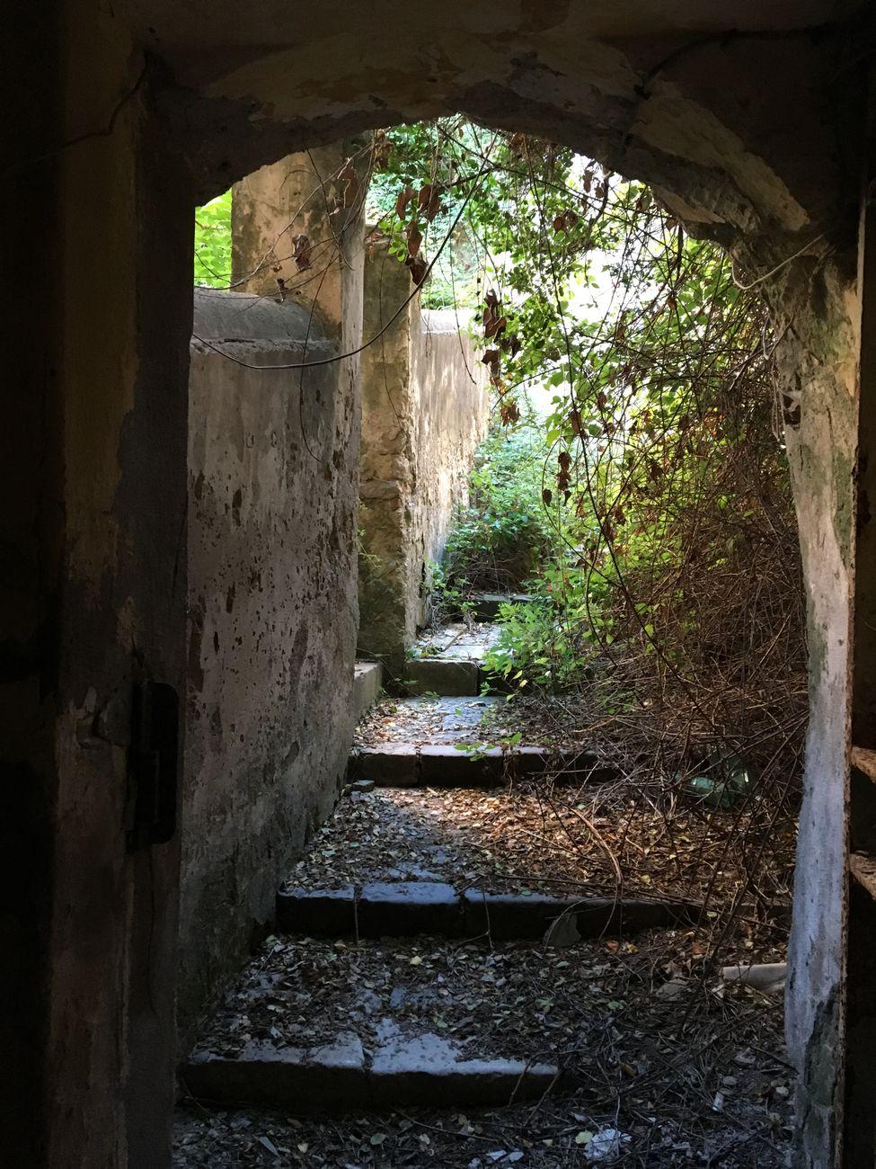 Passaggio esterno, Castello Angioino di Gaeta, 2020
