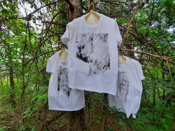 Chiara Lecca, Primitive Tshirt hair series
