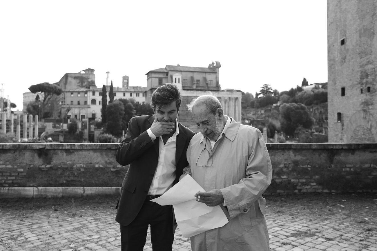 Roberto Cremascoli e Álvaro Siza, Foro di Roma, 2016. Photo Nicolò Galeazzi