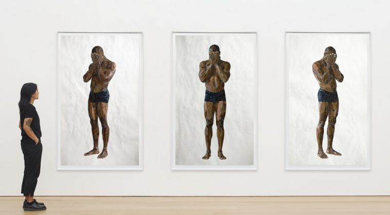Yoyo, Have tears sometimes triptych Courtesy the artist and Destinee Ross Stutton 2020