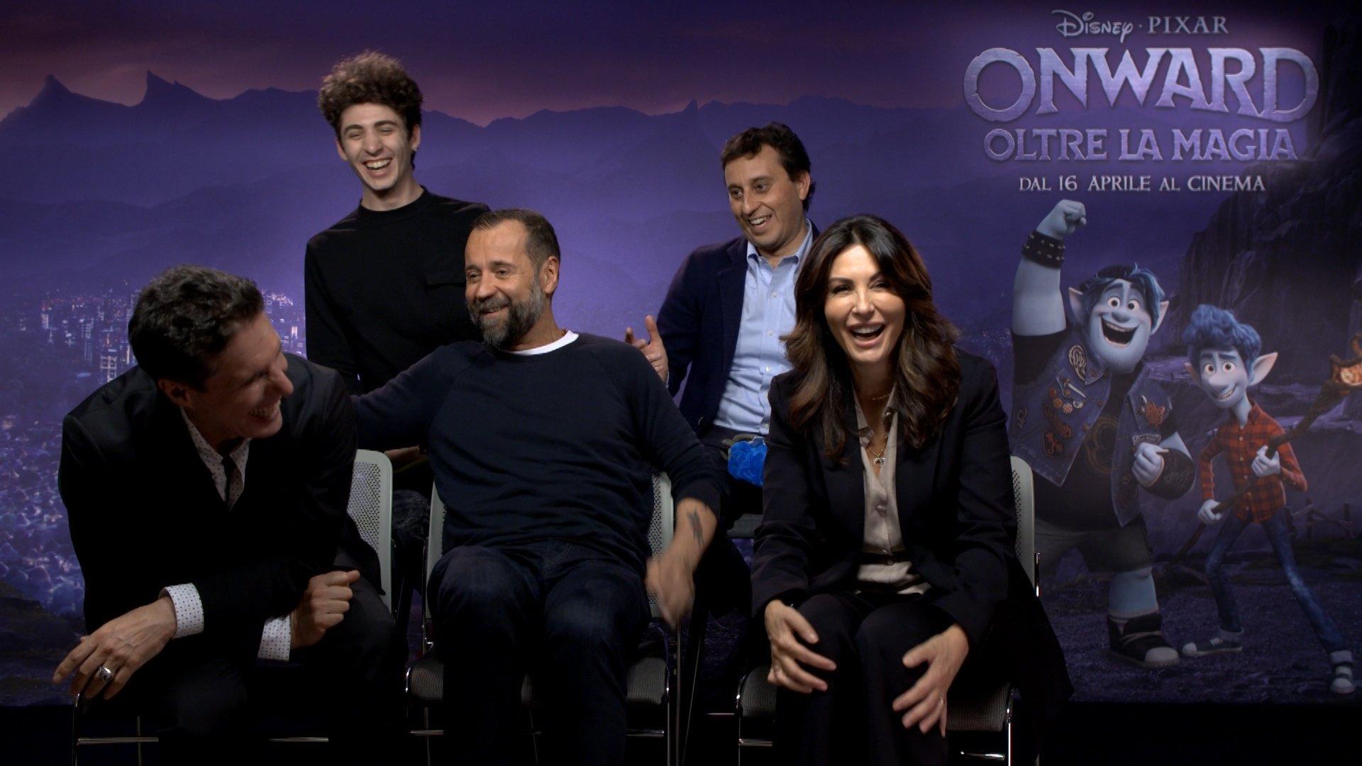 """Il nuovo film della Disney Pixar """"Onward"""" - i doppiatori italiani"""