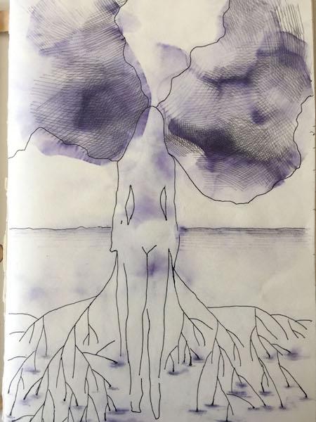 Schizzi per un albero