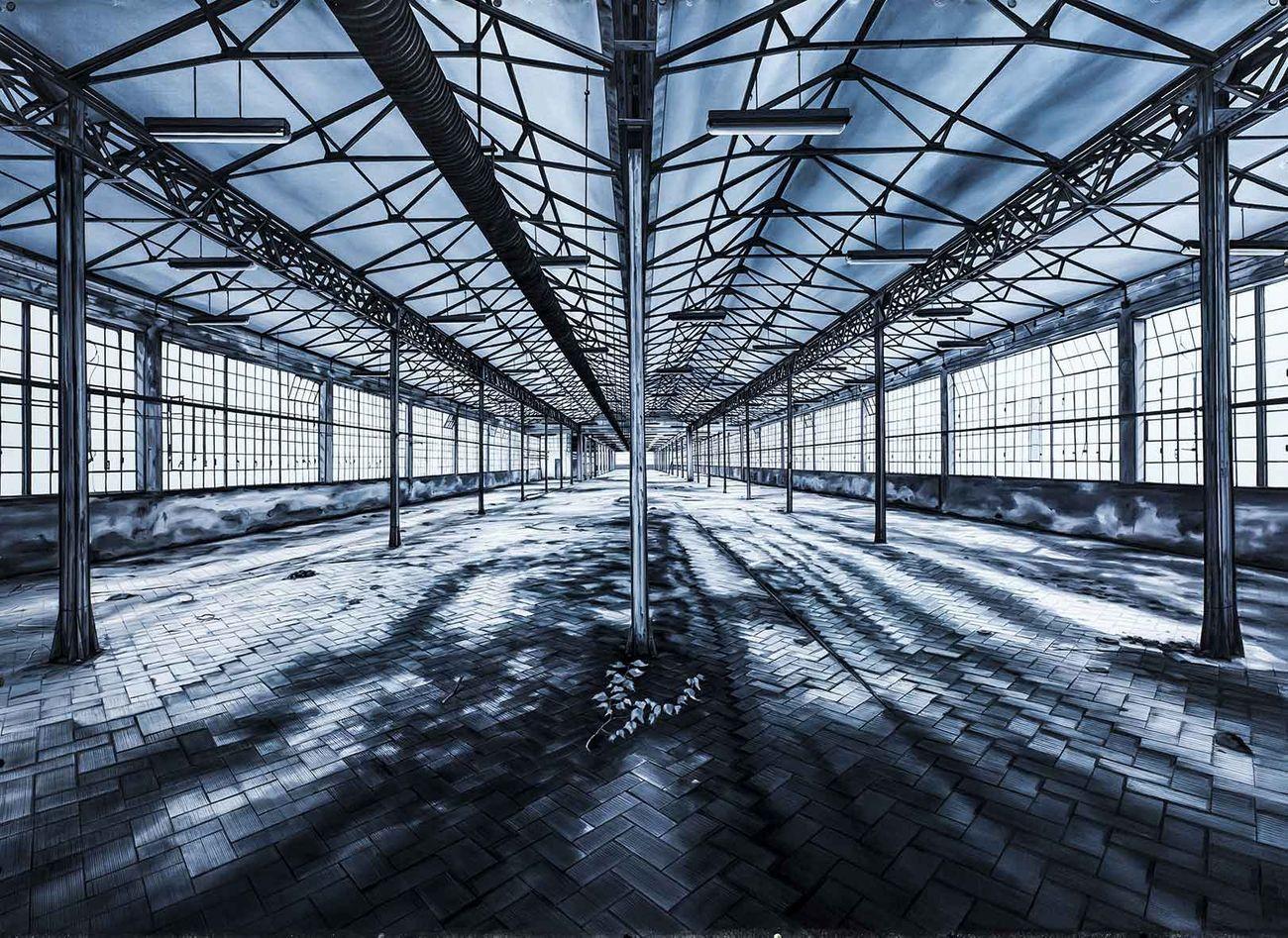 Andrea Chiesi, Eschatos 22, olio su lino, cm 100x140