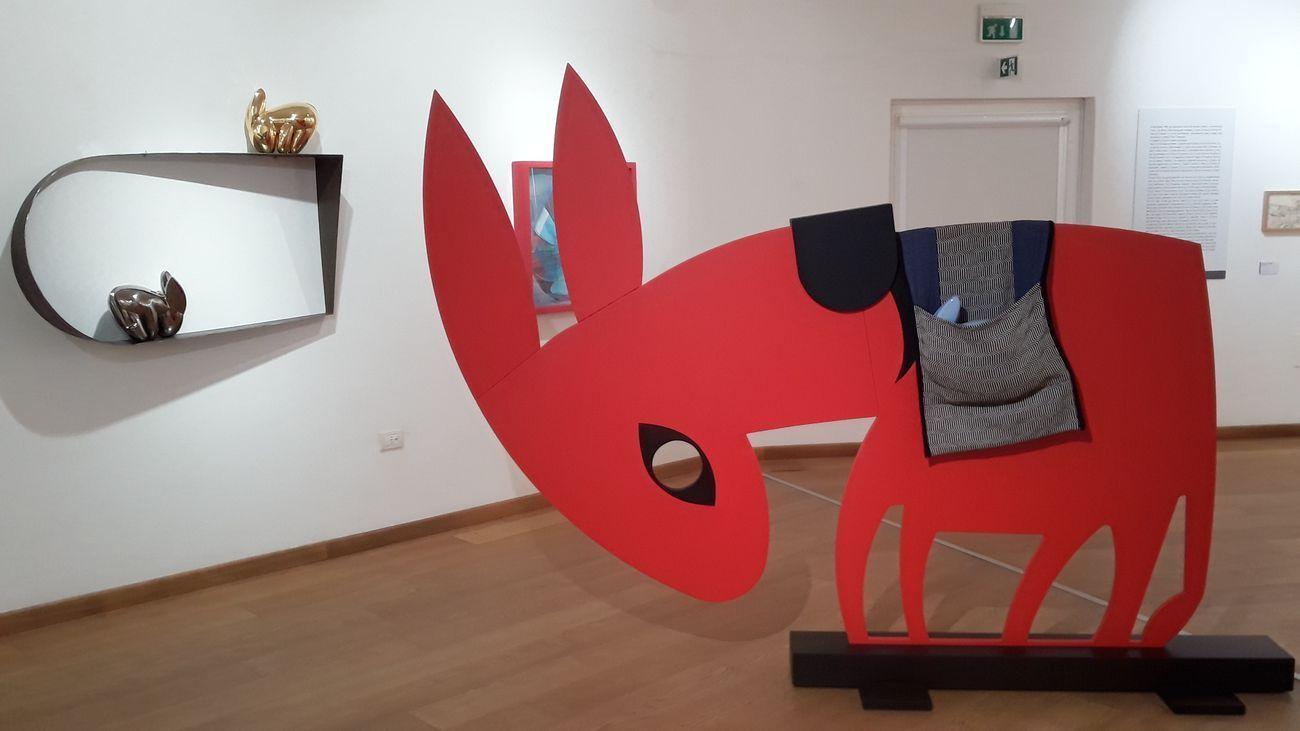 Antonello Cuccu. Ontos. Exhibition view at Museo Diocesano, Oristano 2020