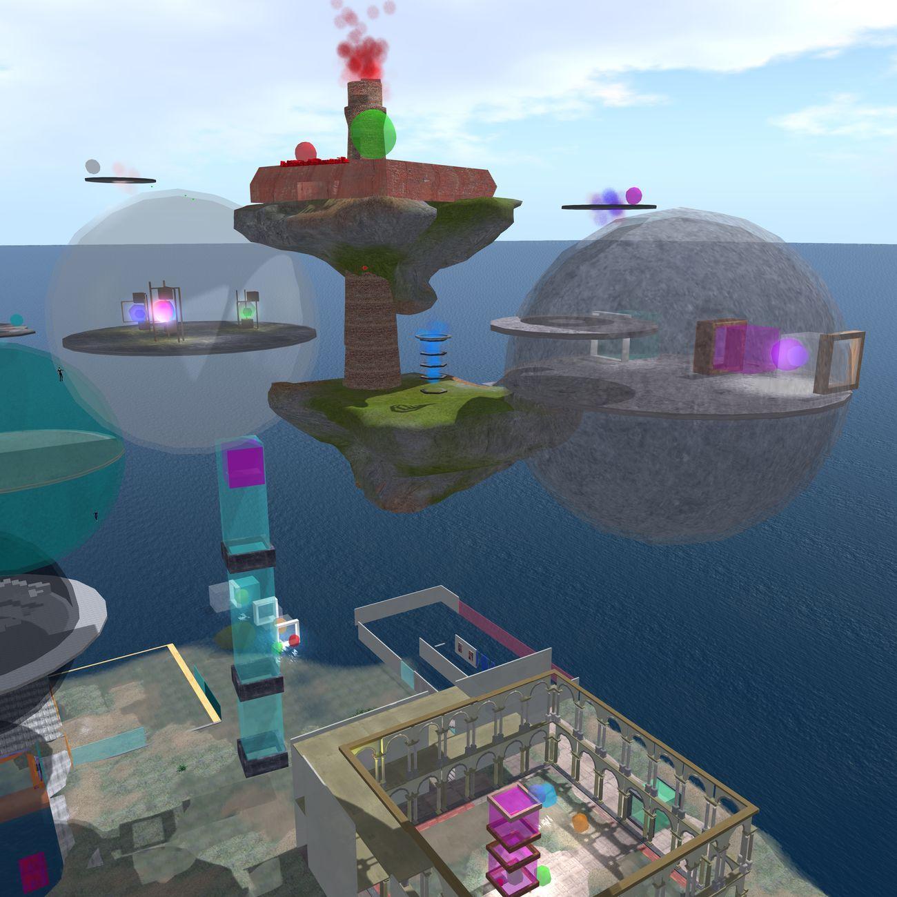 Brera Academy virtual lab, laboratorio di progettazione virtuale dell'Accademia di Belle Arti di Brera in Second Life nel 2013