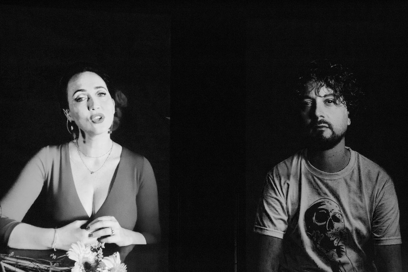 Chiara Lagani & Luigi De Angelis, L'amore segreto di Ofelia. Teatro Romano, Verona 2020. Photo Francesca Marra