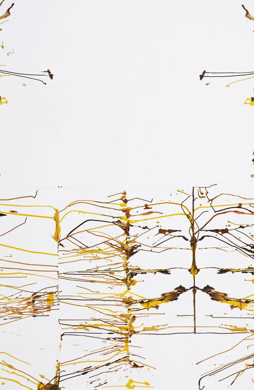 Daniele Innamorato, 1, 2005, acrilico su tela, cm 200x125