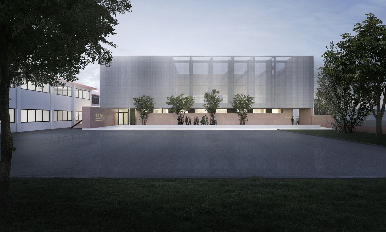 Didonè Comacchio Architects, Concorso Palazzetto dello sport, Nembro, courtesy of DCA+ATIProject