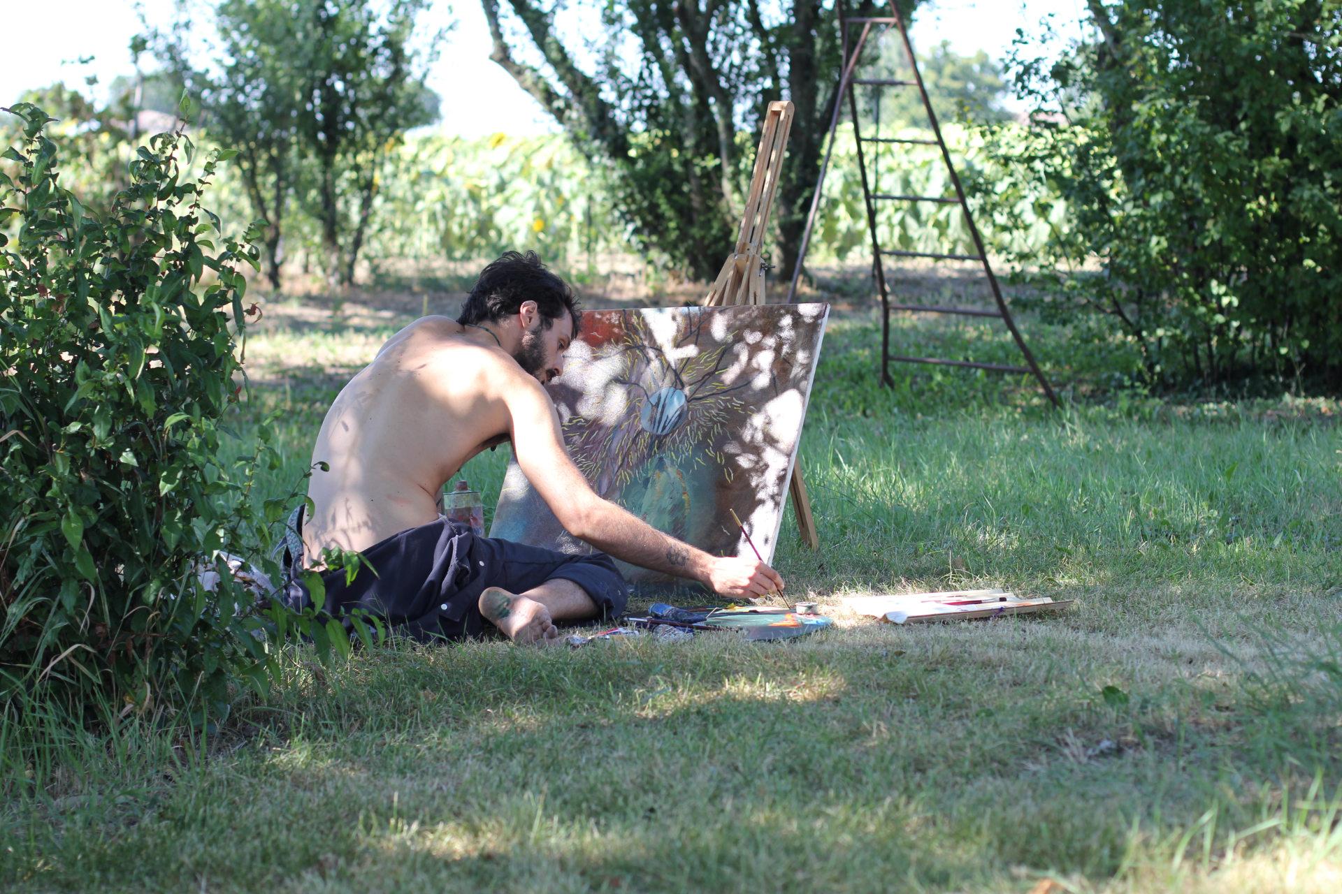 Equidistanze Residenze artistiche Alessandro Sebastianelli