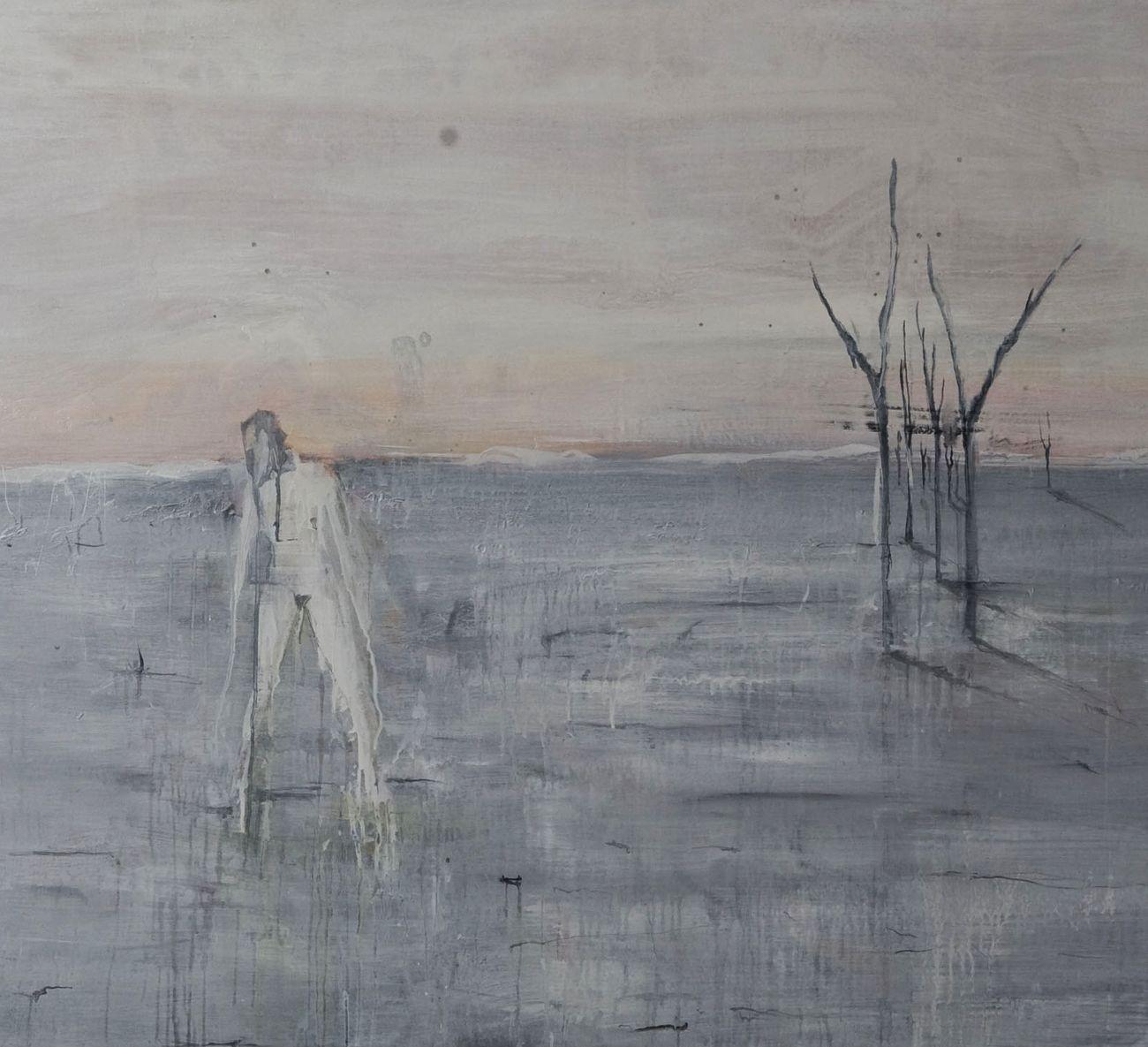 Federica Perazzoli, Home, 2013, acrilico su tela, cm 150x170