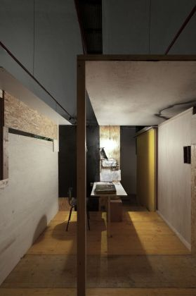 Federica Perazzoli. Pale Green Gost. Installation view at Plasma, Milano 2014