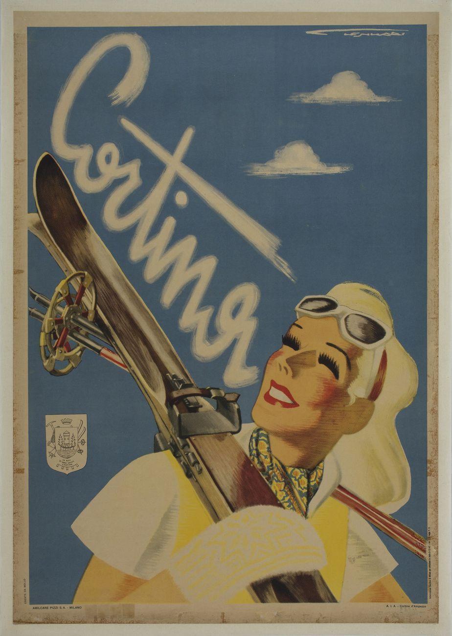 Franz Lenhart, Cortina, 1947 ca. Treviso, Museo nazionale Collezione Salce, Polo Museale del Veneto