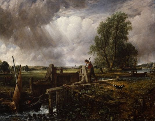John Constable, A Boat Passing a Lock, 1826, Collection The Royal Academy of Arts, London